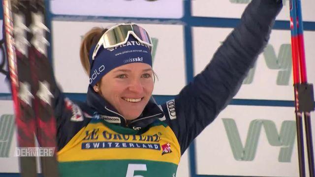 Ski de fond, Trondheim (NOR), sprint dames: 3e place pour Nadine Fähndrich (SUI) [RTS]