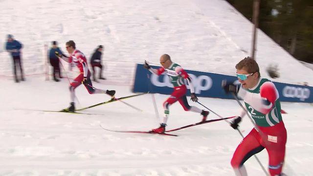 Ski de fond, Trondheim (NOR), sprint messieurs: 15e victoire consécutive pour Johannes Klaebo(NOR) [RTS]