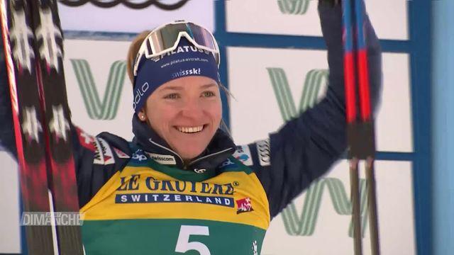 Skicross, Ski nordique: les Suisses s'illustrent [RTS]