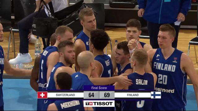 Fribourg (SUI), Suisse - Finlande (64-69): les meilleurs moments du match [RTS]
