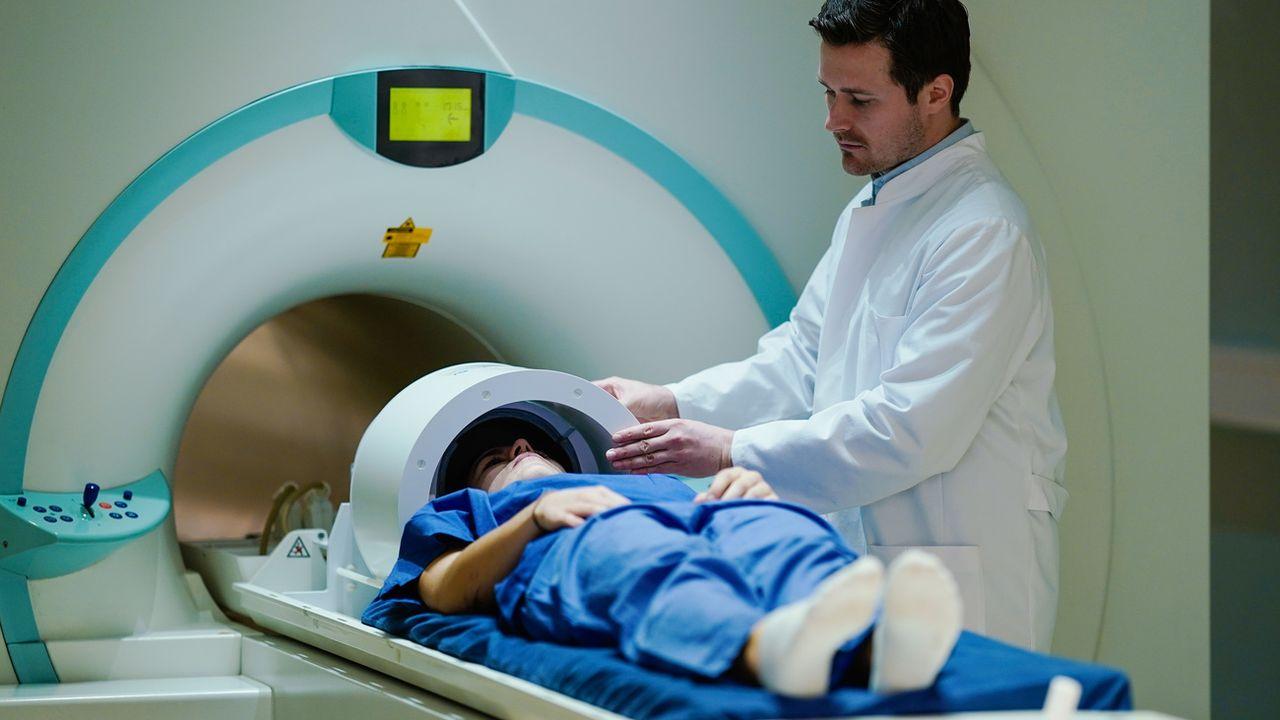 Un centre de recherche contre le cancer à Heidelberg, en Allemagne. [Uwe Anspach - Keystone/DPA]
