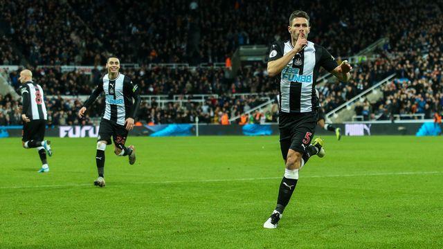 Fabian Schär a vécu une très belle première saison à Newcastle. [Craig Doyle - AFP]