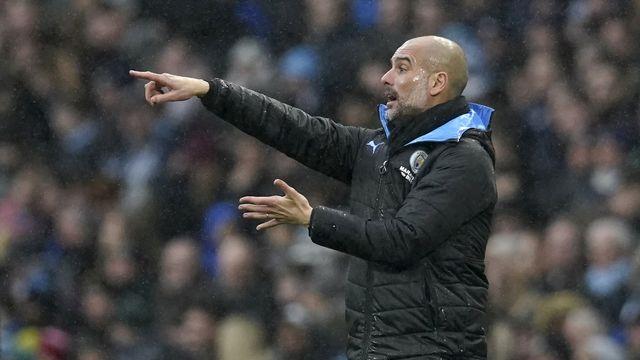 Pur produit du Barça, l'entraîneur de City Guardiola va-t-il jouer un tour aux Madrilènes ? [Jon Super - Keystone]