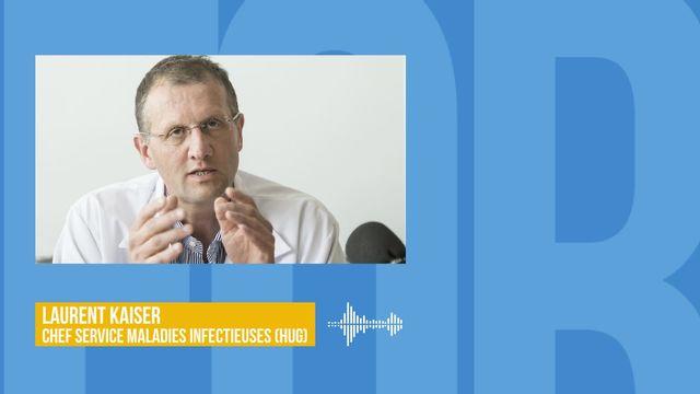 Premier cas de Coronavirus en Suisse: interview de Laurent Kaiser [RTS]