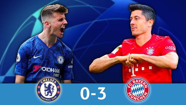 1-8 aller, Chelsea - Bayern  (0-3): le Bayern donne la leçon à Chelsea