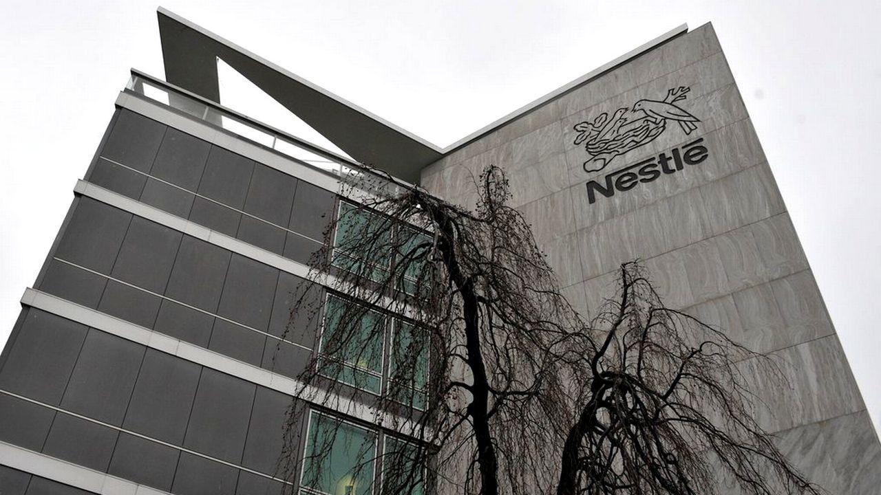 Le bâtiment de Nestlé à Vevey. [Dominic Favre - Keystone]