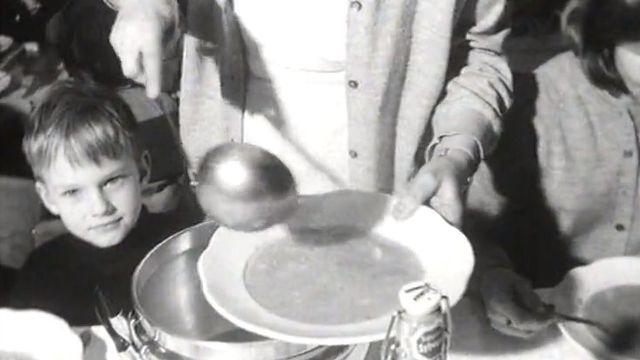 C'est le temps de la soupe de carême à Fribourg.