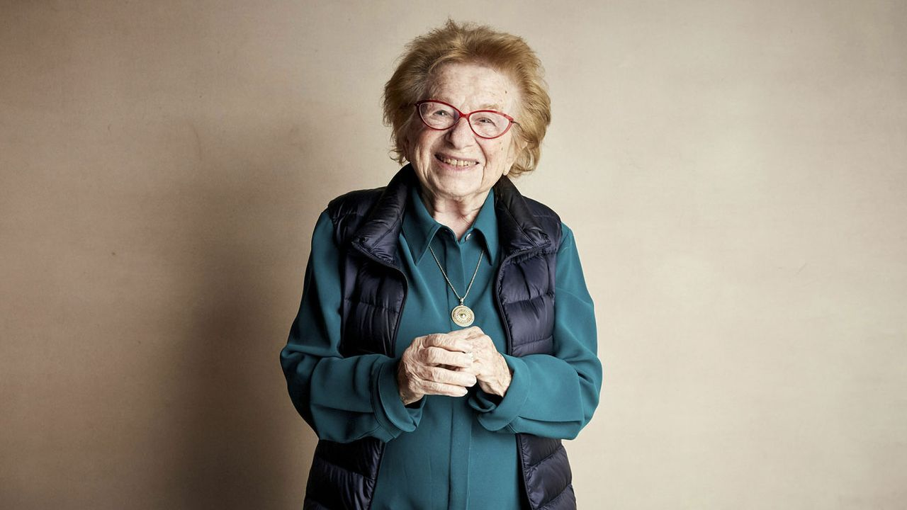 "Ruth Westheimer, connue sous le nom du Dr. Ruth"". [Taylor Jewel - Invision/AP/Keystone]"