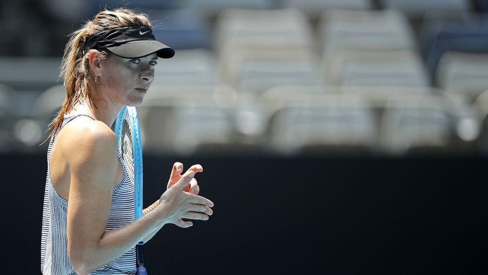 Sharapova fut numéro 1 mondiale pour la première fois en 2005. [Andy Wong - Keystone]