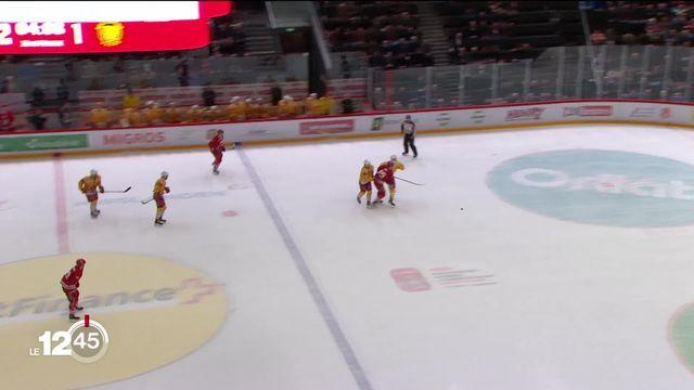 Hockey sur glace: Lausanne et Fribourg ont remporté une victoire hier soir, mais suspense encore pour les playoffs. [RTS]
