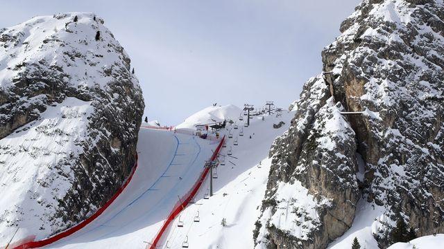 Les finales de la Coupe du monde doivent avoir lieu dans la station des Dolomites. [Alessandro Trovati - Keystone]