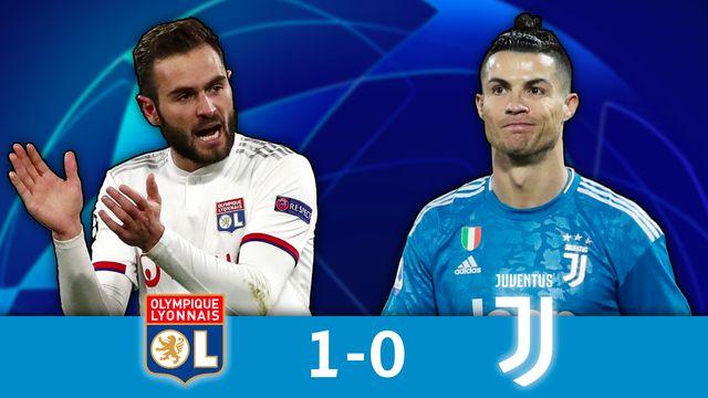 1-8 aller, Lyon - Juventus (1-0): les Lyonnais s'imposent à domicile