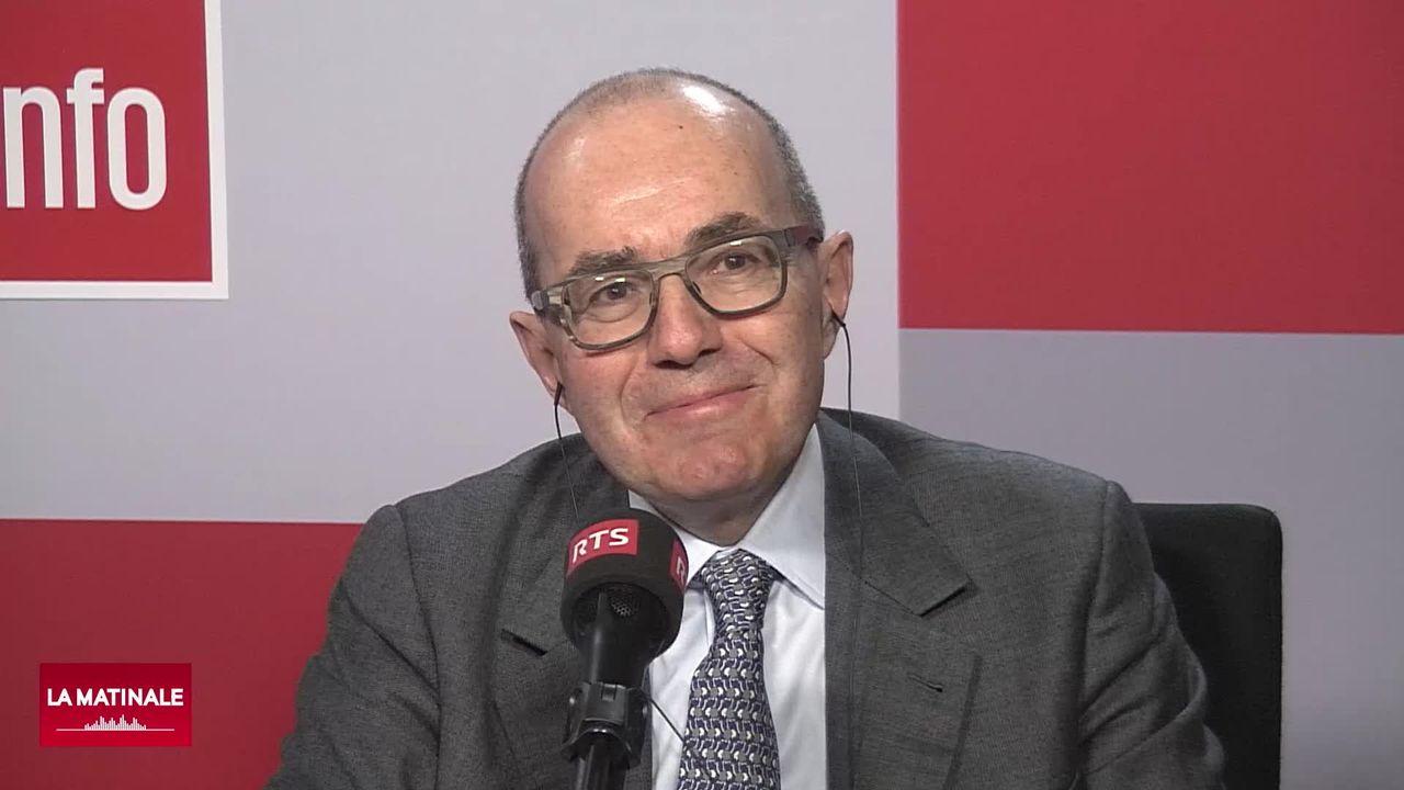 L'invité de la Matinale (vidéo) - Thomas Cueni, président de la fédération internationale des fabricants de pharmaceutiques [RTS]