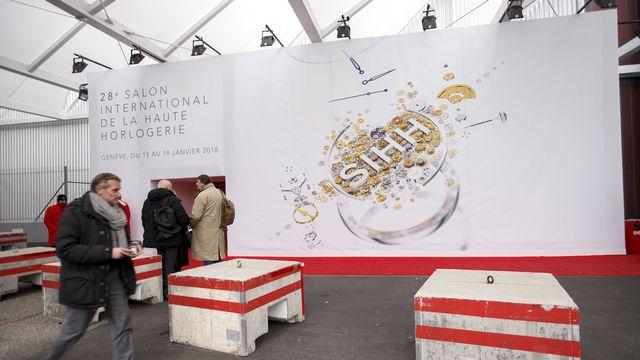 Le salon de l'horlogerie Watches and Wonders de Genève tire un trait sur son édition 2020. [Salvatore Di Nolfi - Keystone]