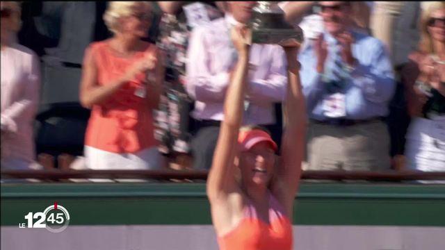 La championne de tennis Maria Sharapova prend sa retraite [RTS]