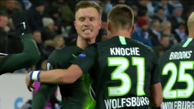 Europa League, 1-16 retour: Malmoe - Wolfsburg (0-3) [RTS]