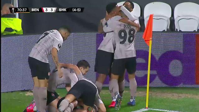 Europa League, 1-16 retour: Benfica - Shakhtar Donetsk (3-3) [RTS]