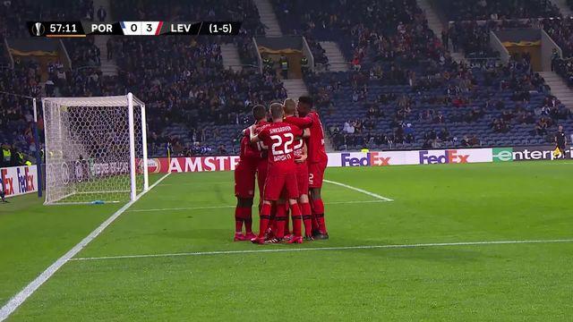 Europa League, 1-16 retour: Porto - Leverkusen (1-3) [RTS]