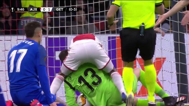 Europa League, 1-16 retour: Ajax Amsterdam - Getafe (2-1) [RTS]