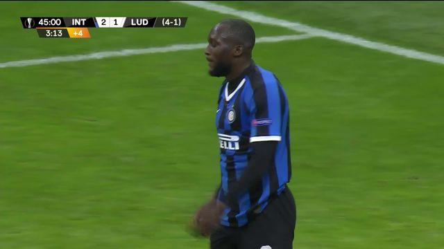 Europa League, 1-16 retour: le but gag de Romelu Lukaku contre Ludogorets [RTS]