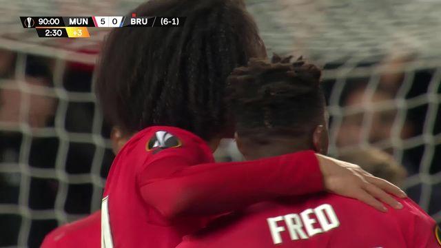 Europa League, 1-16 retour: Man. United - Bruges (5-0) [RTS]