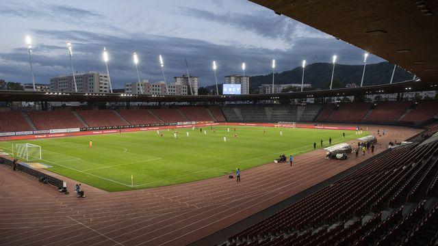 Les footballeurs ne veulent pas d'un stade vide. Ils préfèrent renvoyer leurs matches. Peu compréhensible. [Ennio Leanza - Keystone]
