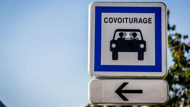 Les autorités franco-genevoises misent sur le covoiturage comme solution à la surcharge de trafic transfrontalier. [GARO / PHANIE - AFP]