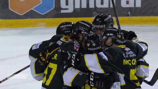 Swiss League, playoff 1-4: Ajoie - La Chaux-de-Fonds (7-3) [RTS]
