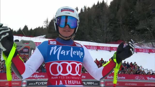 la Thuile (ITA), Super G dames: Corinne Suter (SUI) [RTS]