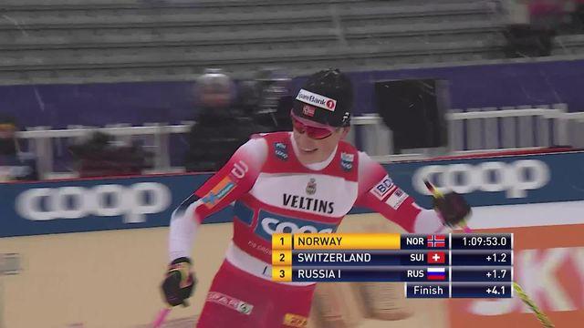 Lahti (FIN), relais messieurs: les suisses terminent 2e [RTS]