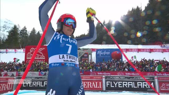 Ski alpin: Federica Brignone en route pour le globe [RTS]