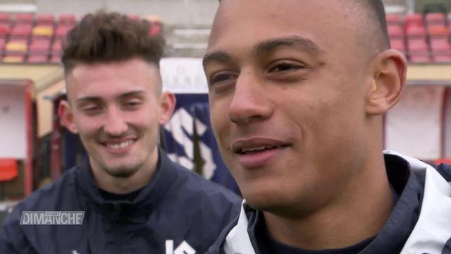Football: Andi Zeqiri et Dan Ndoye [RTS]