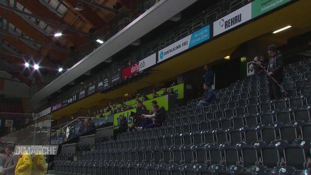 Hockey: des matchs à huis-clos [RTS]