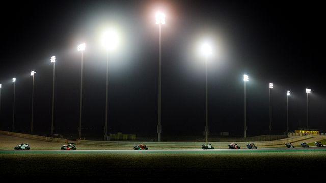 La saison de motoGP devait reprendre au Qatar le 8 mars prochain. [Noushad Thekkayil  - Keystone]