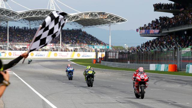 Les coureurs de la MotoGP devront encore patienter avant d'entrer en action. [Lai Seng Sen - Reuters]