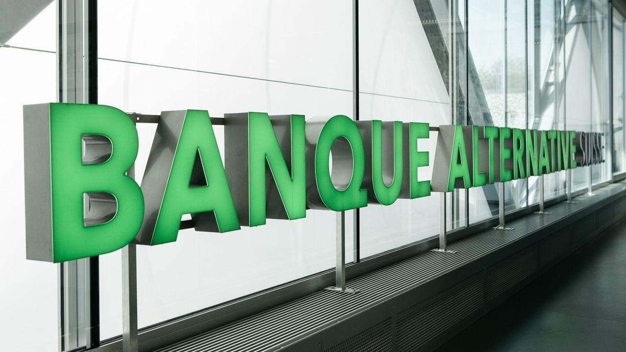Le siège de la Banque alternative à Lausanne. [Banque alternative suisse]