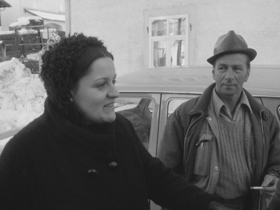 L'humoriste Zouc, à Saignelégier, en 1973. [RTS]