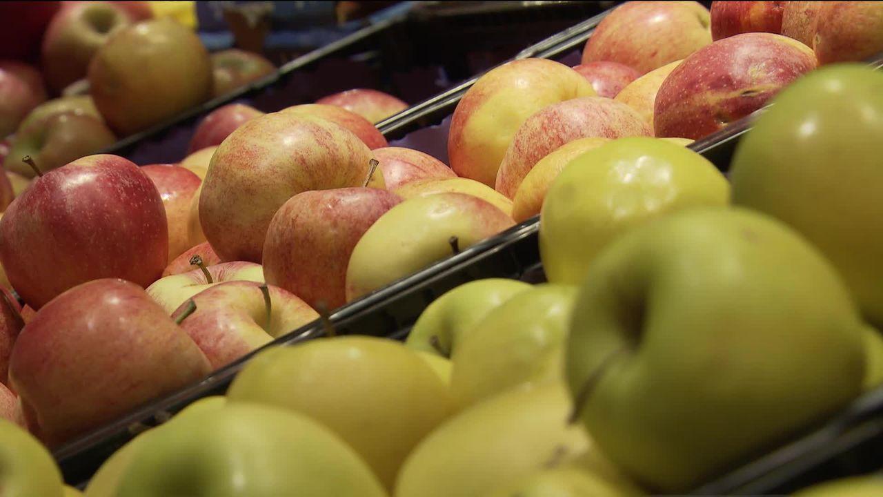 Pink Lady ou Jazz: les pommes deviennent maintenant des marques. [RTS]