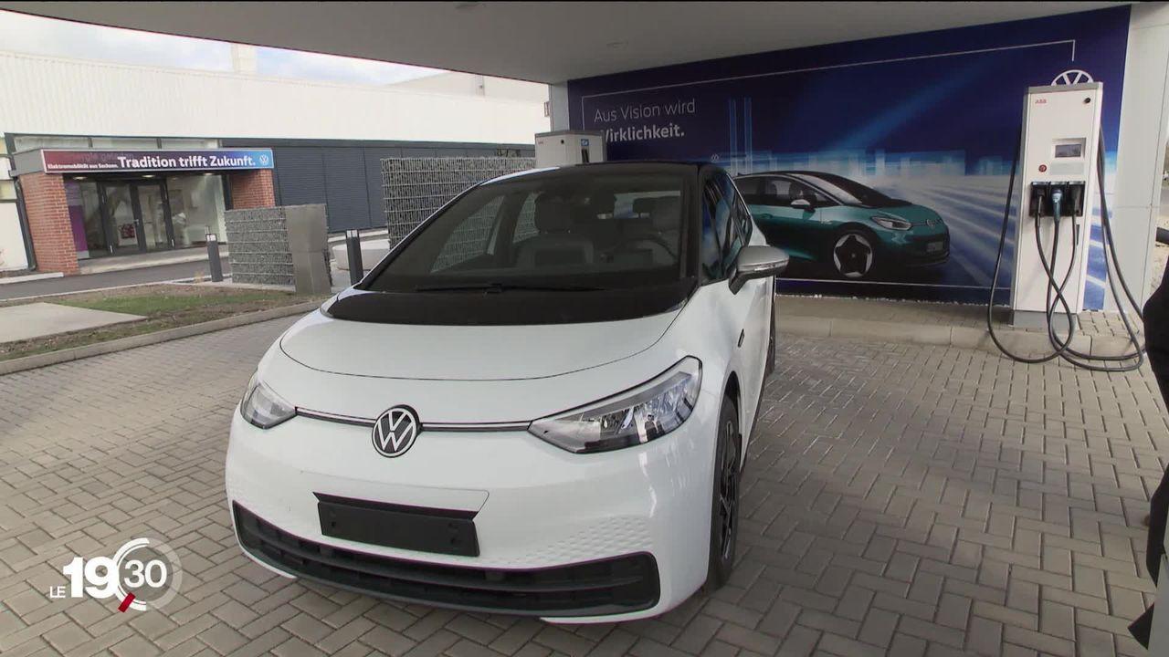 L'offre de voitures 100% électriques pourrait doubler cette année. [RTS]