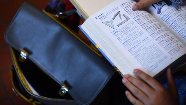 """Un dictionnaire à la lettre """"E""""... comme """"épicène""""? [Fred Tanneau - afp]"""