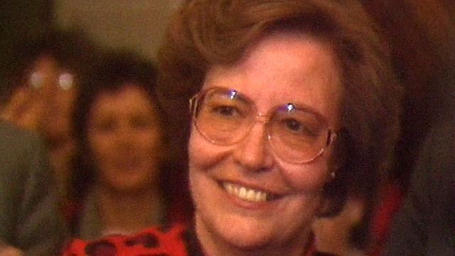 Yvette Jaggi lors de son élection comme syndique de Lausanne en 1989 [RTS]