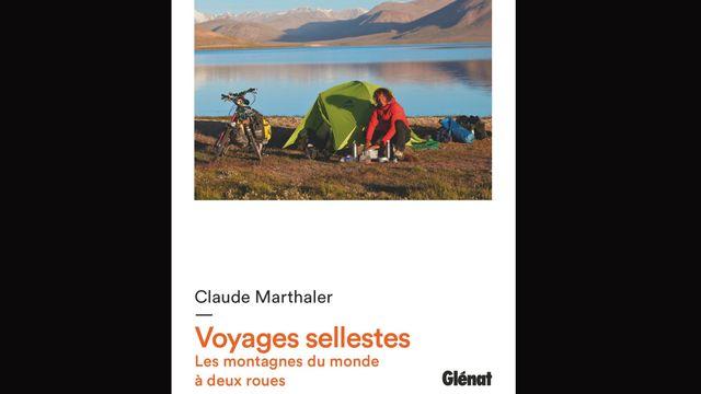 """La couverture du livre """"Voyages sellestes"""" de Claude Mathaler. [glenat.com/]"""