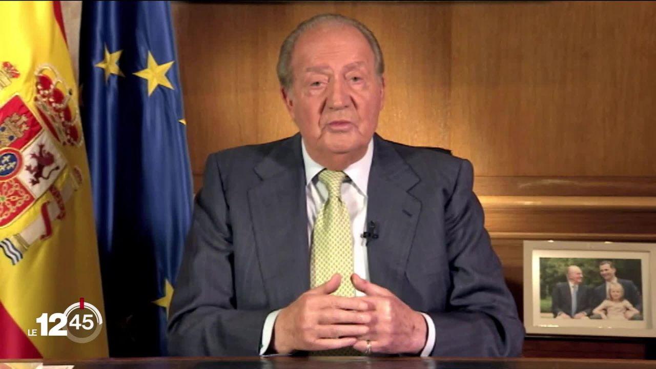 L'ancien roi d'Espagne Juan Carlos cachait de l'argent à Genève [RTS]