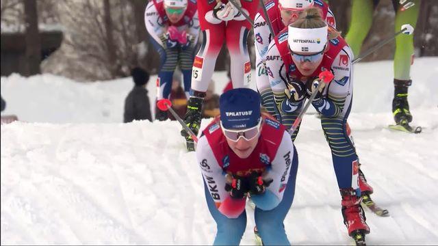 Sprint dames: Nadine Faehndrich se classe 2e derrière la Suédoise Jonna Sundling [RTS]