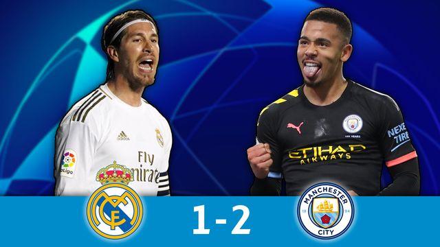 1-8 aller, R. Madrid - M. City (1-2): résumé de la rencontre