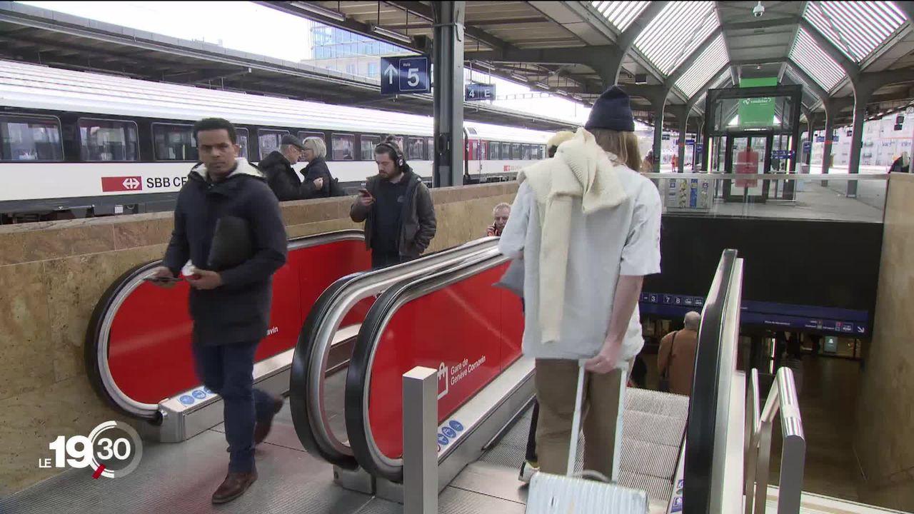 Coronavirus: les CFF invitent leurs employés à éviter les trains bondés [RTS]