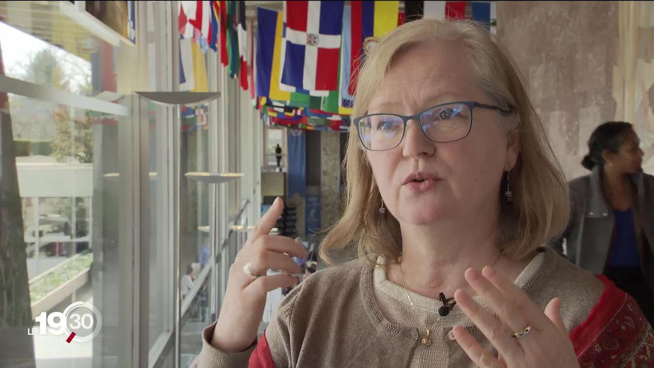 Rosamund Lewis de l'OMS fait le point de la situation autour du coronavirus [RTS]