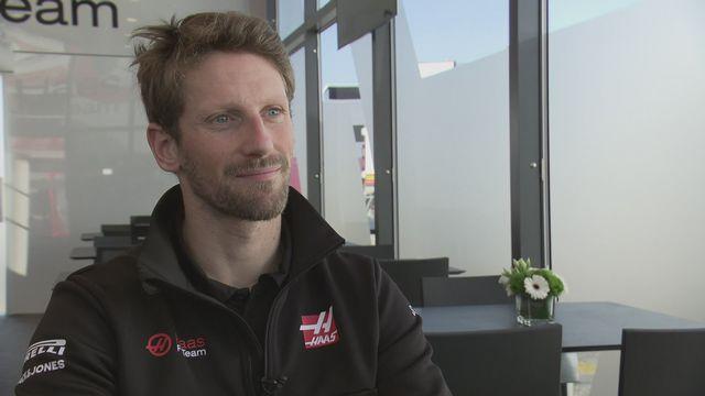 F1 (avant-saison 2020): Romain Grosjean, pilote Haas [RTS]