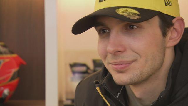 F1 (avant-saison 2020): Esteban Ocon, pilote Renault [RTS]