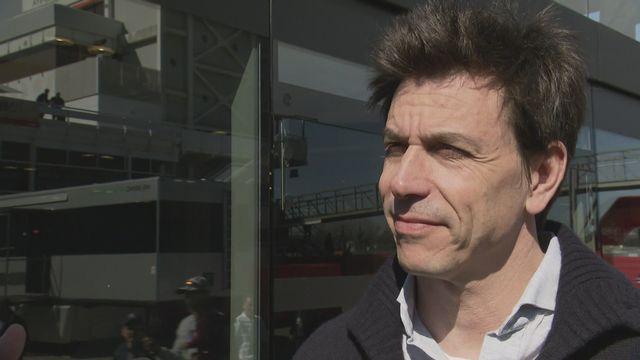 F1 (avant-saison 2020): Toto Wolff, Team principal Mercedes [RTS]